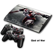 Skin Sticker Vinyl Decal Cover For Playstation 3 PS3 Super Slim CECH-4000 #0007