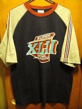SUPER BOWL XLII 2008 NY Giants NE Patriots Reebok T Shirt MED NWT