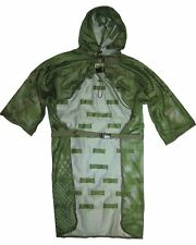 Military Concealment Vest Ghillie Army Jacket Hunting Sniper suit