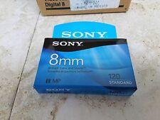 Sony P6120MPR 8mm Video Cassette.  Case of 10.