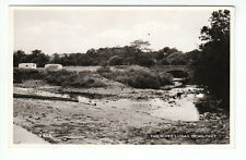 Caravans In Field River Lugan Ochiltree Ayrshire Real Photo Henderson Maybole RP
