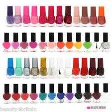 50 x NAIL VARNISH POLISH SET MANY DIFFERENT COLOURS WHOLESALE JOB LOT SET UK