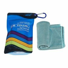 Cooling Towel Fashion Ice Sports Soft Towels with Cold Feeling Fabrics