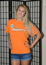Miami Dolphins NFL football t shirt - Orange - Men's Large