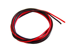 20 AWG SILICON WIRE 1M BLACK + 1M RED LIPO BATTERIES & ESC CABLE MULTIROTORS