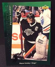 WAYNE GRETZKY 1994/95 UPPER DECK SCORING PREDICTOR POINTS LEADER #R21