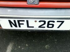 Registration number NFL267 is for sale
