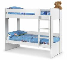 Julian Bowen Ellie 3FT Bunk Bed All White Finish - Free Delivery