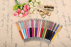 NEW QUALITY CRYSTAL BALLPOINT PEN WITH SWAROVSKI CRYSTAL ELEMENTS PENS GIFT