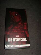 SIDESHOW Marvel Sixth Scale DEADPOOL Classic Figure NEW MIB 1/6th 12 HOT TOY!