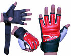 EVO MMA GEL Grappling Gloves Karate Mitts Boxing Martial Arts body Combat UFC