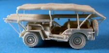 Milicast UK078 1/76 Resin WWII British Jeep Ambulance with Stretchers NW Europe