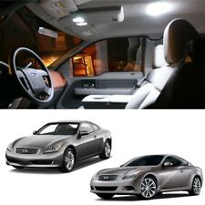7x White LED Light bulbs Interior Package Deal For 08~12 Infiniti G37 Coupe #250