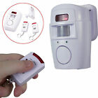 Motion Sensor Alarm Chime Infrared Security Detector Home Wireless Protect XL