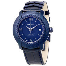 Versace DV25 Blue Dial Automatic Mens Watch V13020016