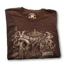 MEN'S MEDIUM LUCKY BRAND 'VOO DOO POKER CLUB' NEW ORLEANS TEE T-SHIRT NEW!