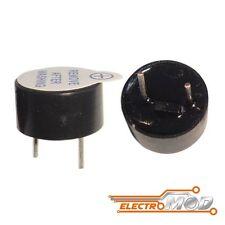 2x Zumbador activo 5v buzzer 12mm magnetico continuo alarma