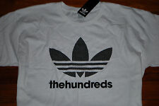 NEW Men's The Hundreds x Adidas Trefoil Graphic T-shirt (Large)