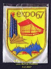 LMH PATCH Badge EXPO 67  World's Fair 1967 Exposition  MONTREAL Quebec CANADA yl