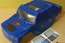 1/10 RC Monster Truck Off Road carrozzeria in Blu