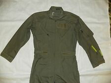 "Air-Force-Military Flight Suit CWU-27-P-Coveralls Pilot Flyers ""40S"" Sage  #9"