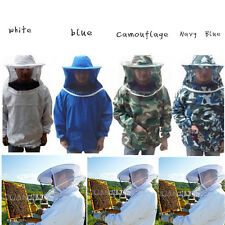 New Beekeeping Jacket Veil Smock Equipment Supplies Bee Keeping Hat Sleeve Suit