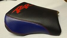 CUSTOM SEAT COVERS FOR HONDA CBR954RR 2002/2003 WITH CARBON FIBER TEXTURE VINYL