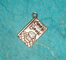 Pendant Cook Book Charm Cooking Charm Baking Chef Charm Cupcake Cookies Charm
