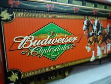 BUDWEISER TRAIN CLYDESDALES CAR #2 HAWTHORNE Runs on HO Track