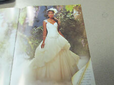 Alfred Angelo Wedding Dress Disney Tiana #204 Size 14 - Diamond White