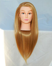 "(US SELLER) 30"" Cosmetology Mannequin Synthetic Hair Human Head Standard PEGGY a"