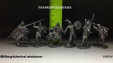 Tin soldiers 35 mm kit Frankish warriors 6 pieces