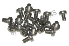 20-SS M6 X 10MM PPH PHILLIPS PAN HEAD MACHINE SCREW METRIC STAINLESS STEEL 6MM