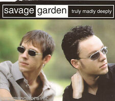 SAVAGE GARDEN - Truly Madly Deeply (UK 4 Trk CD Single)