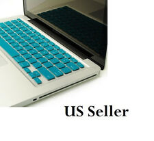 "Silicone Keyboard Skin Cover For Apple Macbook Pro  Mac 13"" 15"" 17""  watergreen"
