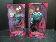 USA 1997 Olympic Skater Barbie & Ken Dolls NRFB