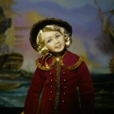 Miniature porcelain doll girl 1:12 dollhouse