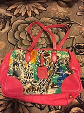 AUTHENTIC PRADA RDC7300 VENICE ITALY HANDBAG PINK PURSE SHOULDER BAG HTF RARE