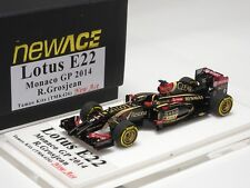 LOTUS E22 MONACO GP 2014 R. GROSJEAN TAMEO KIT 1/43 TMK426