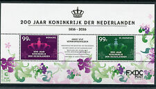 Dutch Caribbean Bonaire & St Eustatius 2016 MNH Kingdom of Netherlands 2v M/S