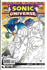 SONIC UNIVERSE # 54 (PENCIL, INK, COLOUR VARIANT COVER, SEP 2013) NM