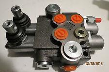 Hydraulik Handsteuerventil 2-fach 50 L / 1 x Einfach 1 x doppelkwirkende