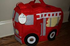 NWT Pottery Barn Kids Fire Truck Halloween costume 3t