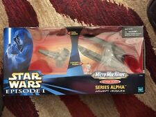 STAR WARS MICRO MACHINES ACTION FLEET SERIES ALPHA CONCEPT SITH INFILTRATOR Nib