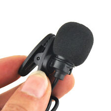 Mini 1/8(3.5mm) Lapel Tie Clip-on Lavalier Microphone for Apple iPhone Samsung