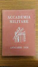 LA791_ACCADEMIA MILITARE ANNUARIO 1950_EPOCA_ESERCITO_FOTOGRAFIE