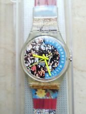 "orologio swatch STANDARD GENT SPECIAL modello ""THE PEOPLE""GZ 126 anno 1992 NUOVO"