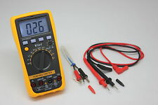 iAideTek 2000 VC86 auto range multimeter tester backlight AC DC Ω F diode buzz