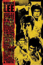 Bruce Lee Montage Poster Print, 24x36