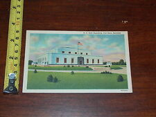 POSTCARD RARE VINTAGE US GOLD DEPOSITORY FORT KNOX KENTUCKY #2